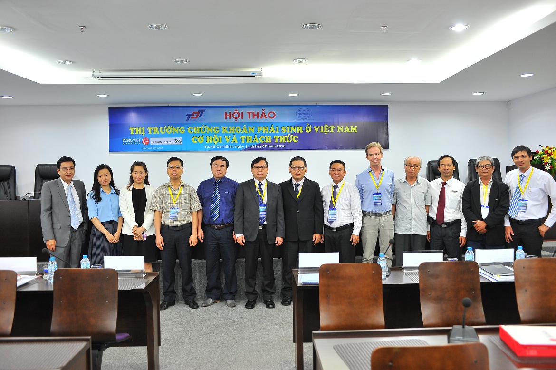 Hội thảo thị trường chứng khoán phái sinh ở Việt Nam - Cơ hội và thách thức